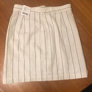 Urban pinstripe skirt